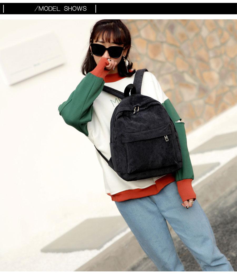 HTB1jAZWcTZRMeJjSspnq6AJdFXaN Women Backpack Youth Small Solid Casual Backpacks Students School Bag Teenage Girls Vintage Laptop Bags Rucksack Mochila