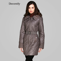 Decently 2015 New Women Winter Coat Cotton Fashion Short Slim Warm Pocket Zipper Hooded Free Shipping