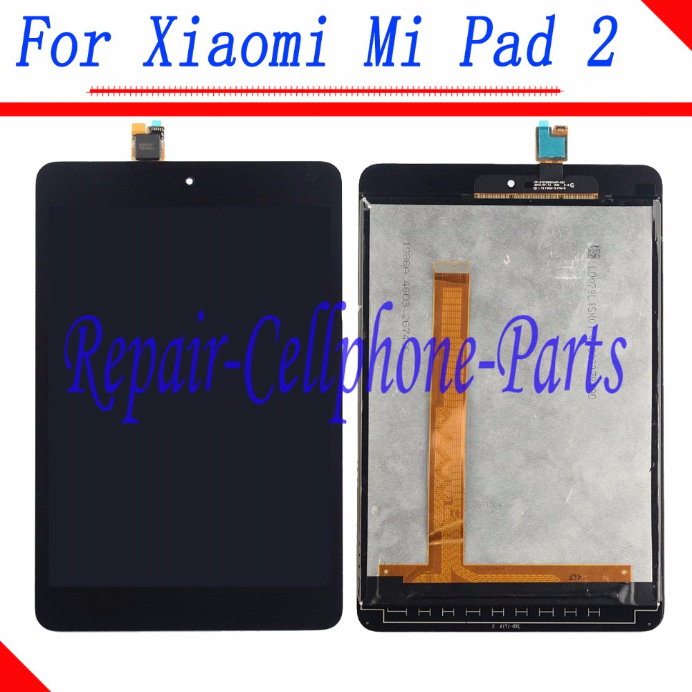 7.9 inch Black Full LCD DIsplay + Touch Screen Digitizer Assembly For Xiaomi Mi Pad 2 100% tested for xiaomi mi max 2 lcd display touch screen replacement parts 6 44 inch with tools as gift free tracking