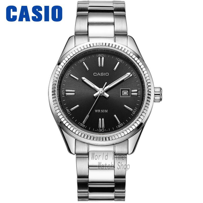 Casio watch quartz pointer steel waterproof ladies watch LTP-1302D-1A1 LTP-1302D-1A2 LTP-1302D-7A2 часы casio ltp e118g 5a
