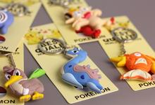 3D Pokemon Ring Keychain