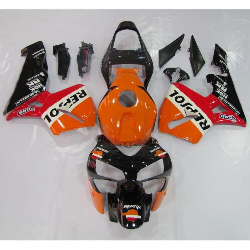 Repsol INJECTION ABS Carénage Carrosserie Pour Honda CBR600RR CBR 600 RR F5 03 04 15A