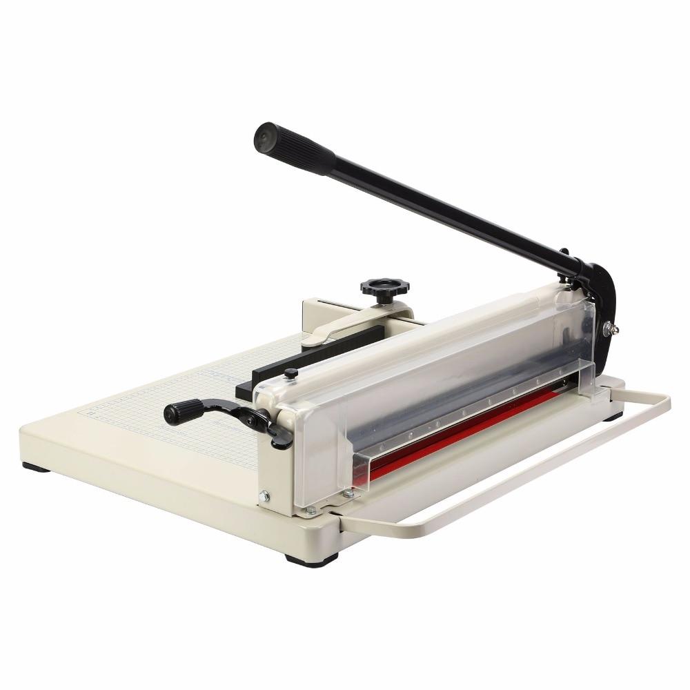 Из закаленной стали лезвия промышленные точный срез 80 г бумаги 400 листов высокой или около 1.5 A3 резак для бумаги 17 триммер машина