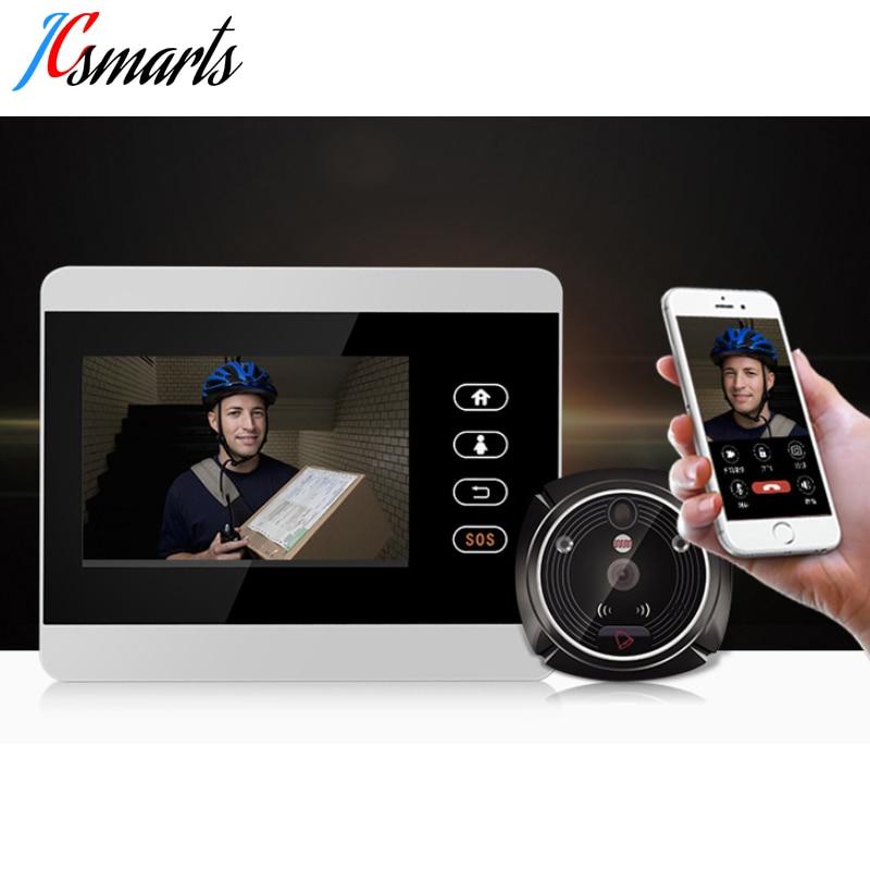 ihome5 WiFi Wireless Digital Peephole Door Viewer 4