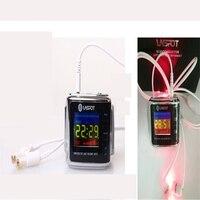 LASPOT дома Применение Малый Портативный устройства инструмент Ухо Уход защита ушей Лазерная Cure уха лазерная терапия Лечение слуховой аппара