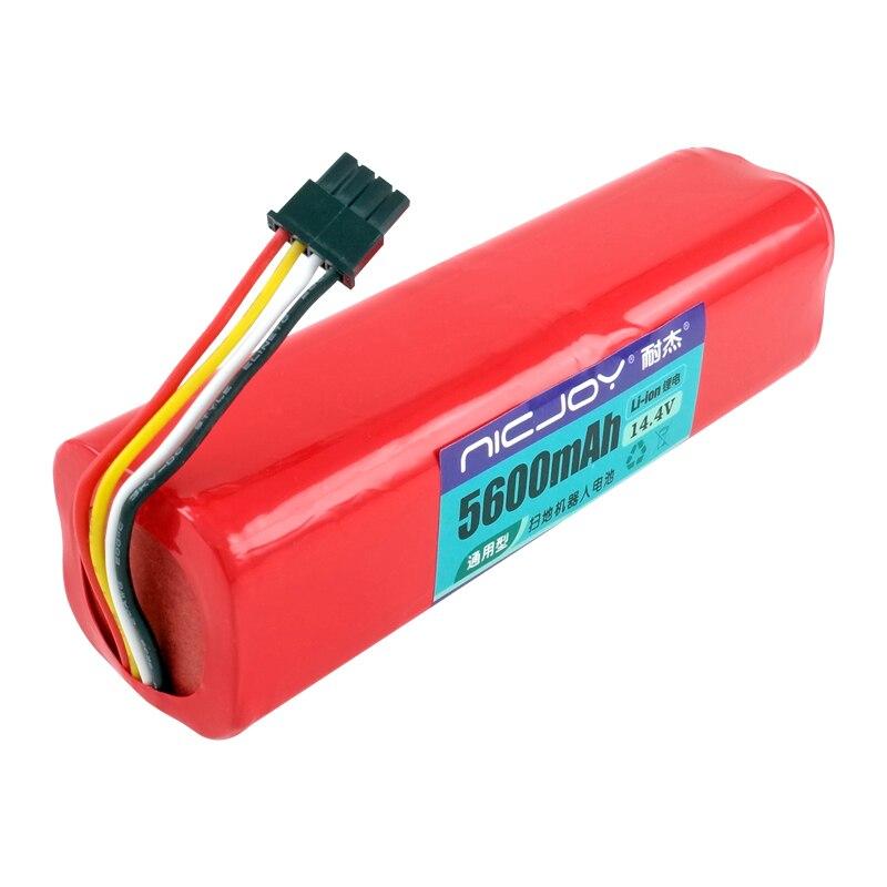 5600mAh 14.4V Vacuum Cleaner battery for replacement xiaomi vacuum 2  xiaomi mi robot зарядное устройство duracell cef14 аккумуляторы 2 х aa2500 mah 2 х aaa850 mah