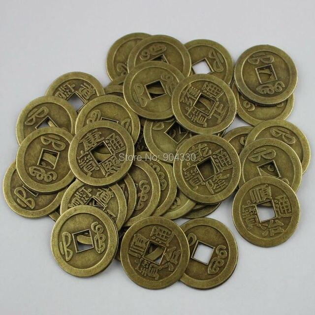 Freies Verschiffen Lanzzay 20 Stücke Mix Feng Shui Münzen 1 25 Cm