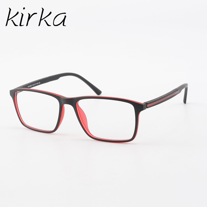 Kirka Best Quality Brand TR90 Men Retro Optical Eyeglasses Frame ...