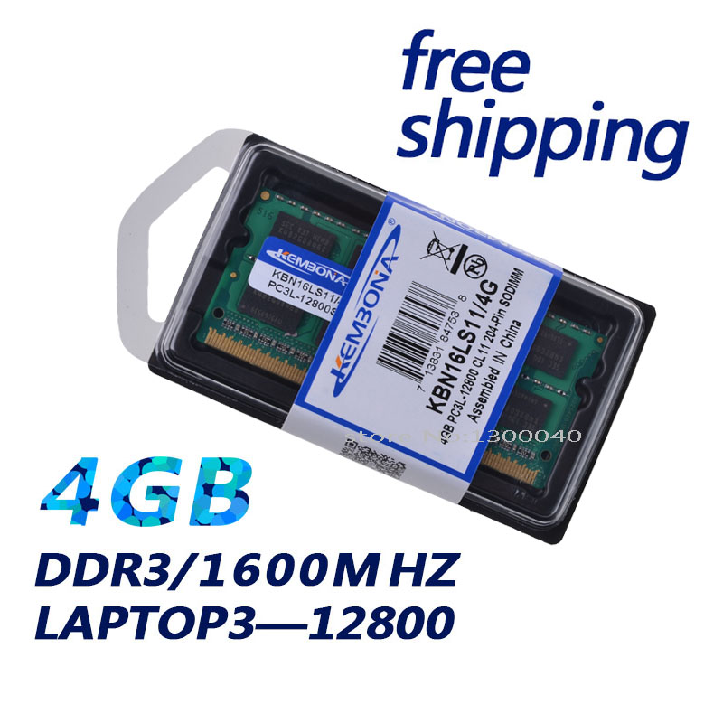 KEMBONA DDR3L Laptop Memory With 4GB Capacity for Laptop 5