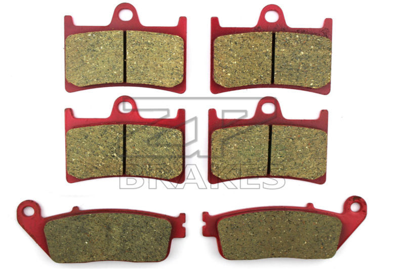 Motorcycle Brake Pads For YAMAHA MT-01 1670cc 2005-2009 F + R New Ceramic Composite High Quality ZPMOTO motorcycle brake pads ceramic composite for triumph 800 tiger 2011 2014 front rear oem new high quality zpmoto