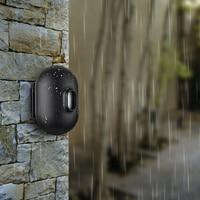 FUERS FSK Pir Waterproof Motion Sensor Detector Work with DW9 Security Alarm System Driveway Garage Burglar Sensor Alarm