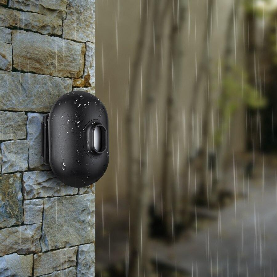 Sensor de movimiento impermeable FUERS FSK Pir funciona con alarma de seguridad DW9 Luz LED de noche con Sensor de movimiento PIR, lámpara LED de noche, iluminación de techo, lámparas de techo para sala de estar