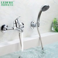 LF56O120 single level Bath mixer water tap bathroom single handle cold and hot water hot cold tap bathroom mixer Bathtub Faucets