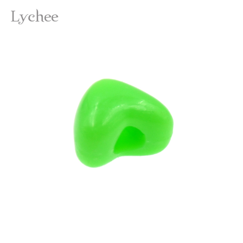Lychee 10pcs/lot Gothic Punk Plastic Multi Color Hair Braid Dread Dreadlock Beads Cuffs Clips Jewelry for Women Girl