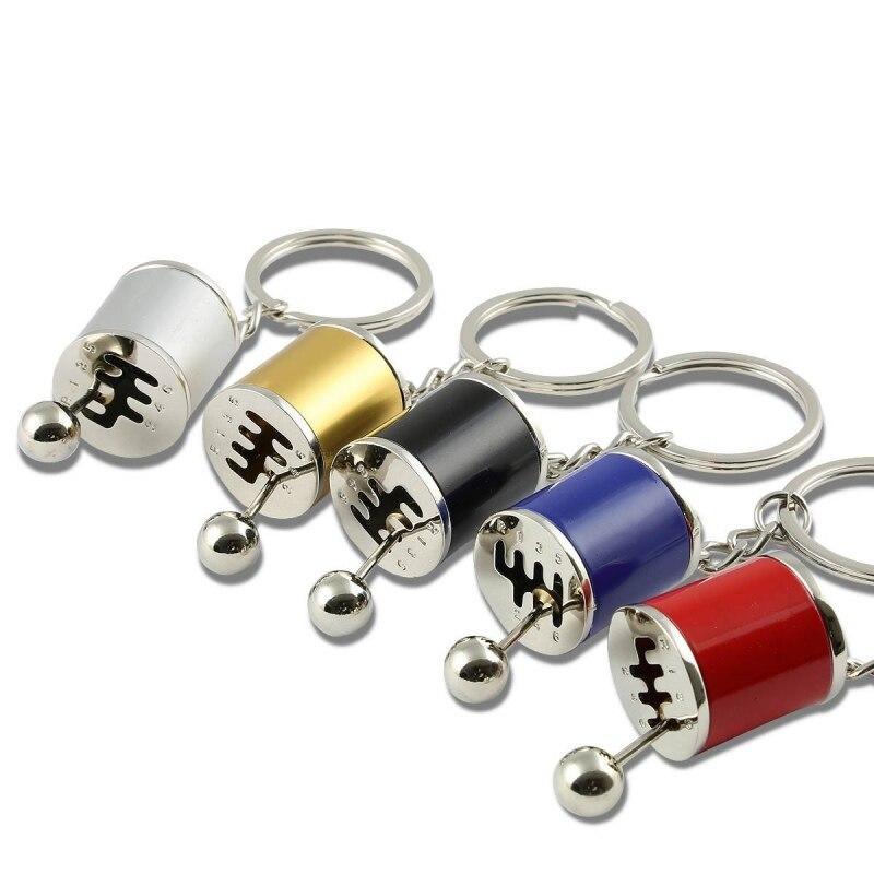 Fancy Modified Keychains Gear Head Key Chain Wave Box Keyring Key Rings Keyfob Accessories 7801