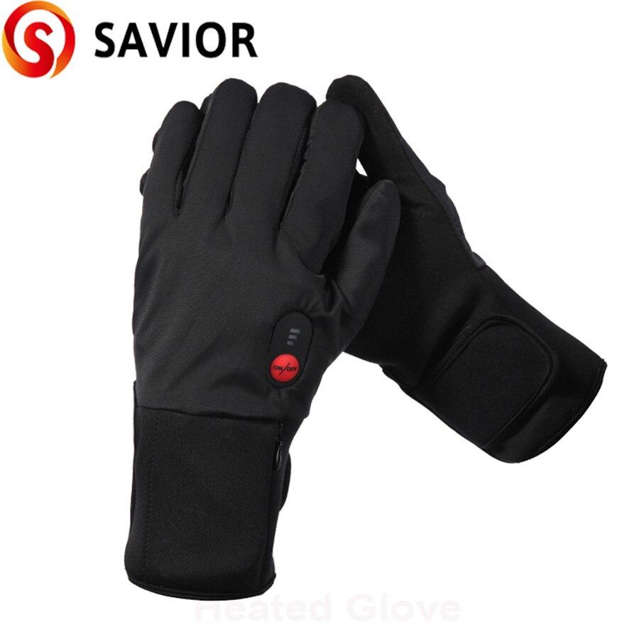 3-6 heures gants chauffants à piles gants de sport de plein air pour le Ski moto chasse hiver Ski amoureux de vélo cadeau - 4