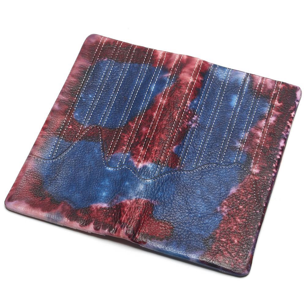 Женская кисточка на молнии винтажный клатч из натуральной яловой