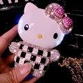 2015 Luxo Cristal Bling Do Diamante Olá Kitty Powerbank Bateria Externa Carregador Powerbank 12000 mAh para Todos Os telefones móveis P2