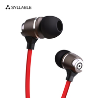 SYLLABLE G02S 3 5mm Jack Earphone Headset For Mobile Phone Fone De Ouvido Wired Headset Without