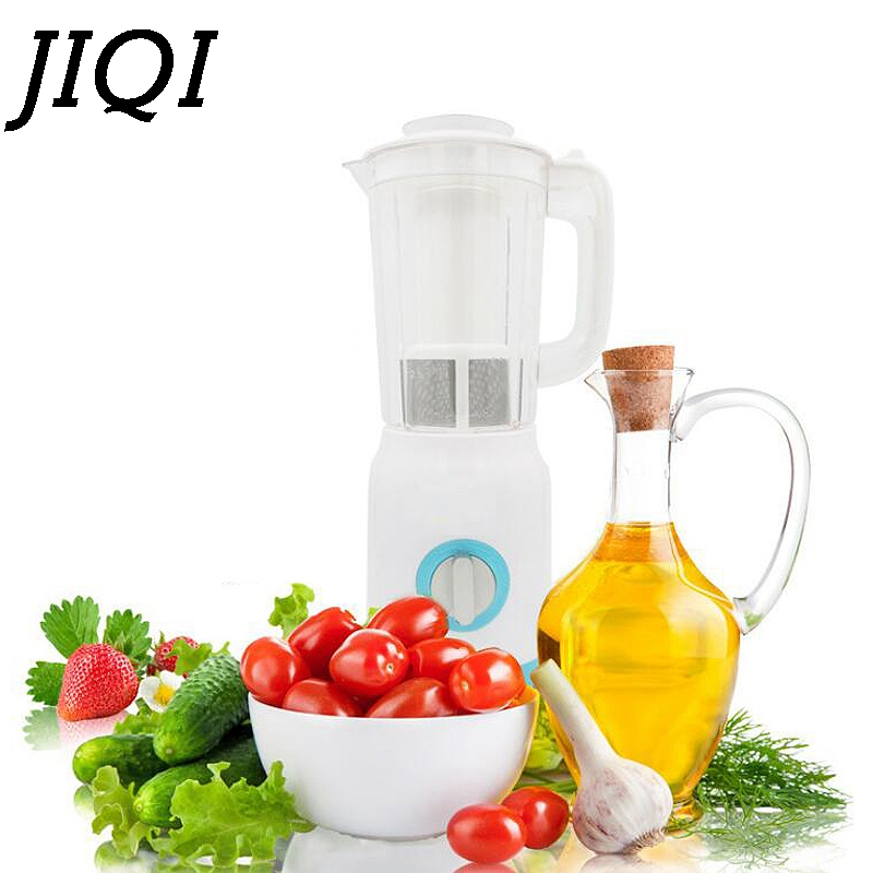 JIQI MINI electric slow juicer Multifunction fruit Juice blender Citrus Extractor Food milkshake Mixer soymilk machine 110V 220V bear 220 v hand held electric blender multifunctional household grinding meat mincing juicer machine