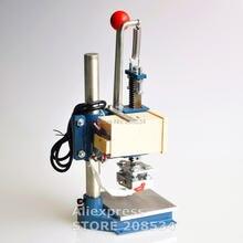Ручная штамповочная машина принтер для кожи сгибания горячего