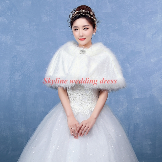 New Women S Real Genuine Soft Imitation Mink Fur Small Wedding Cape Poncho Stole Shawl