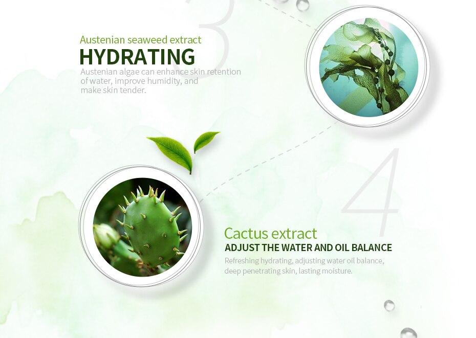 Clareamento Hidratante Reabastecimento de Água Limpa Suave