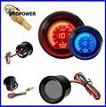 52mm 2 inch EVO LCD Red/Blue Water Temp Medidor Smoke Lens Com Sensor/AUTO MEDIDOR