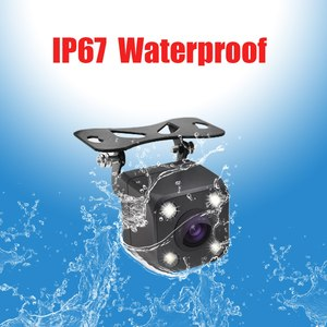 Image 3 - 4 LED Lights Car Rear View Camera HD Auto Camera Back IP68 Waterproof Car Reverse Cameras Vehicle Parking Camera