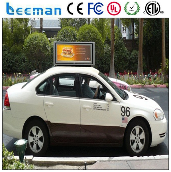Leeman P5 P4 P5 P6 Car Display Led Sign Led Taxi Top