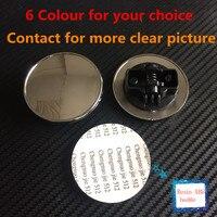 10pc New Car Styling 57mm Blue black B Apple Tree Hood Front Bonnet Badge Emblem For w124 w140 w163 w202 w203 w204 w210 w211
