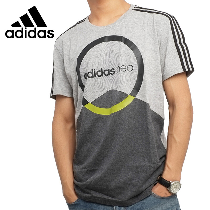 Original New Arrival 2017 Adidas NEO Label M CS GRAPHIC Men's T-shirts short sleeve Sportswear original new arrival 2017 adidas neo label m sw tee men s t shirts short sleeve sportswear