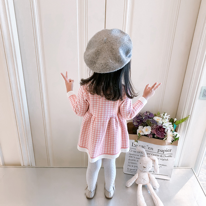 b99ac4ab8a94f children winter Dress for Girls baby underwear dress kids autumn knitted  Clothes thick Dresses teen high quality Christmas Cloth | Bella's Baby World
