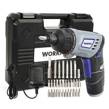цена на WORKPRO 3.6V Cordless Screwdriver Electric Power Screw driver Household Rechargeable battery Screwdriver