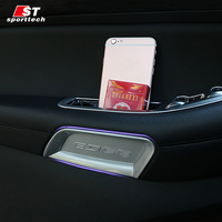 Car Styling Inner Handle Bowl Sticker For Ford Edge Chromium Styling Handle Bowl Covers For Ford