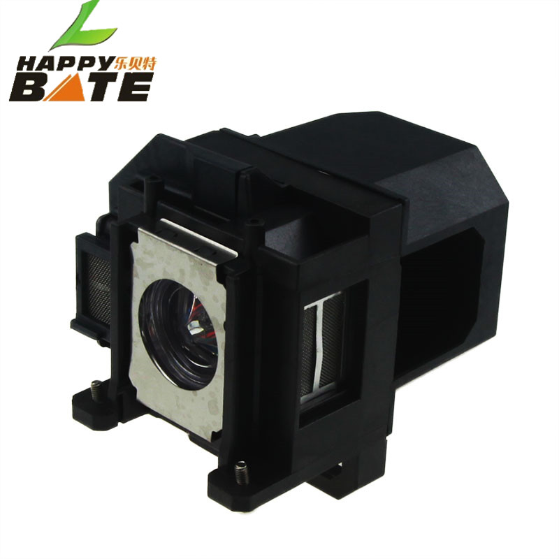 HAPPYBATE wholesale ELPLP53 V13H010L53 Compatible Lamp with Housing for EB-1910/EB-1915/EB-1920W/EB-1925W with housing