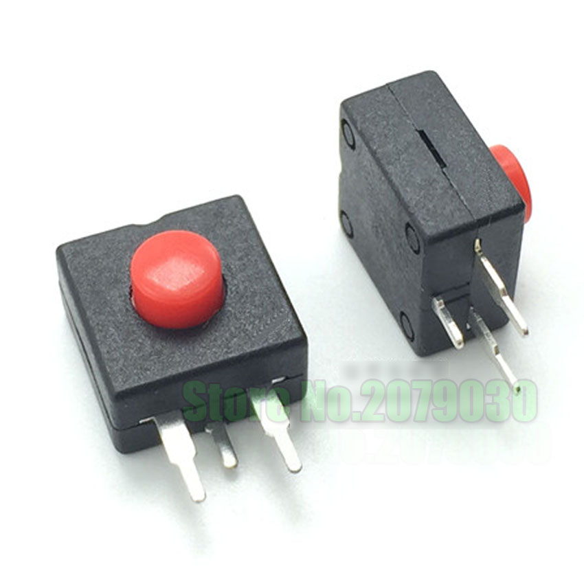 cltgxdd ON OFF ON Flashlight switch power switch button 3PIN 3P High temperature