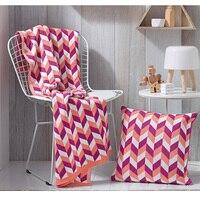 Nova Malha cobertores de Luxo Hotéis custom Home sofá cobertor Quente Europa Acrílico de 100% cobertor de cashmere Por Atacado Frete Grátis