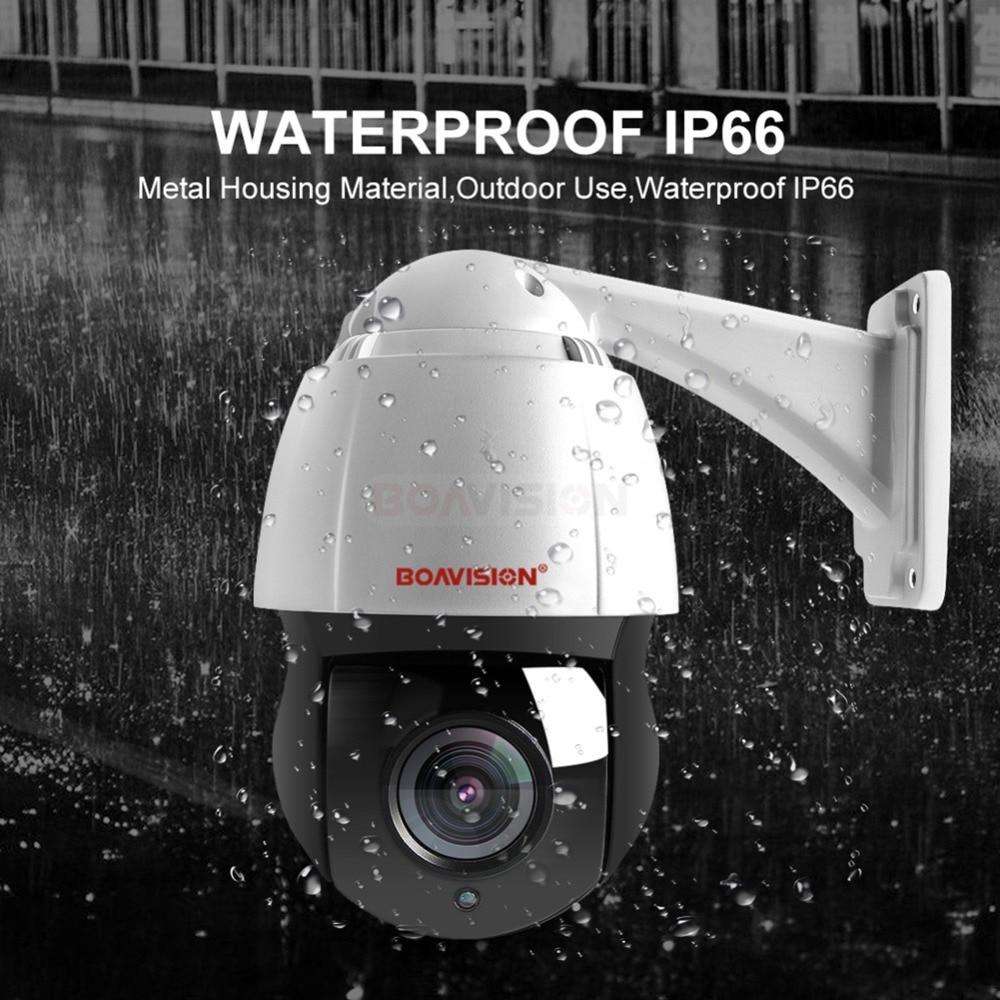 Nouveau 4.5 Pouces HD 1080 P 4MP 5MP PTZ IP Caméra Extérieure Réseau Onvif Vitesse Dôme 30X assiettes premier âge caméra PTZ CCTV 150 m IR vision nocturne - 3