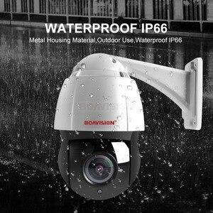Image 3 - Yeni 4.5 inç HD 1080P 4MP 5MP PTZ IP kamera açık ağ Onvif Speed Dome 30X Zoom objektifi PTZ kamera CCTV 150m IR gece görüş