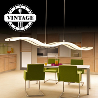 Decorative Pendant Lights Lamps for Living Room Modern Simple Latest Wave Design Excellent Acrylic Indoor Home Lighting