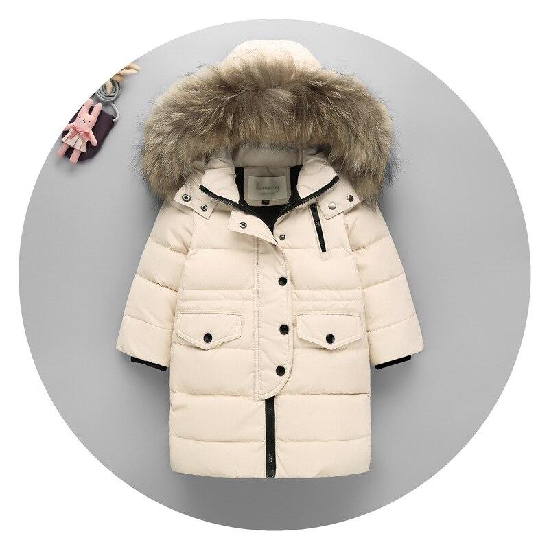 Новогодняя одежда, белая куртка-пуховик на утином пуху, тонкая куртка-пуховик для девочек и подростков, детская зимняя куртка-пуховик для ма...