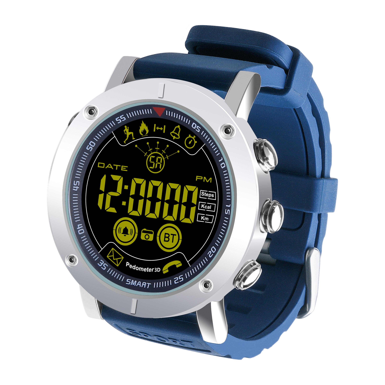 EX19 Smart Watch Fitness Tracker 5ATM Waterproof Swimming Call SMS Alert Sport Pedometer Smartwatch Stopwatch Smart Wristwatch