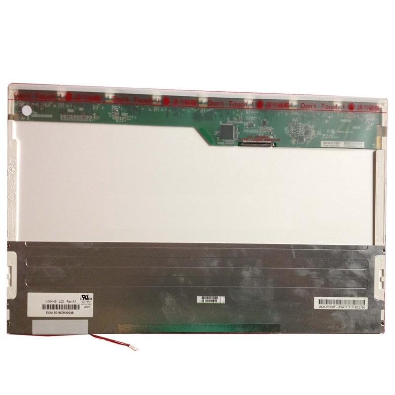 Grade A + N184H3-L02 18,4 FHD 1920*1080 WUXGA Lcd-bildschirm Panel 1 CCFL 30Pin