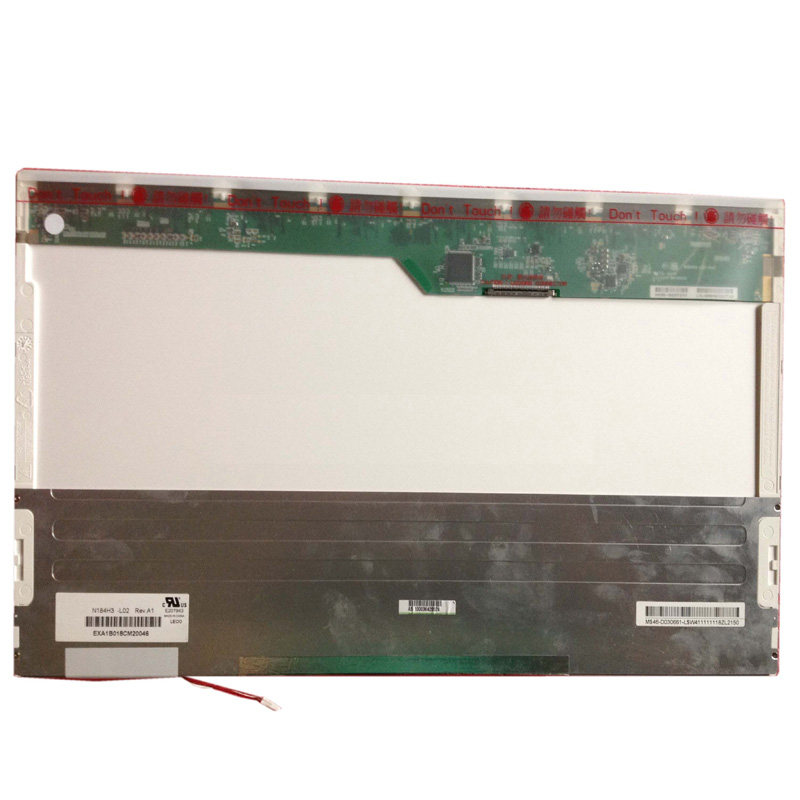 Grade A+N184H3-L02 18.4 FHD 1920*1080 WUXGA LCD Screen Panel 1 CCFL 30Pin brand new 15 4 wxga 1280 800 1 ccfl 30pin laptop lcd screen for dell vostro series 1000 1500 1501 panel replacement