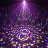 Oobest Bluetooth MP3 Player Crystal Magic Ball Remote Control 6 Colors Digital RGB Disco Voice Control