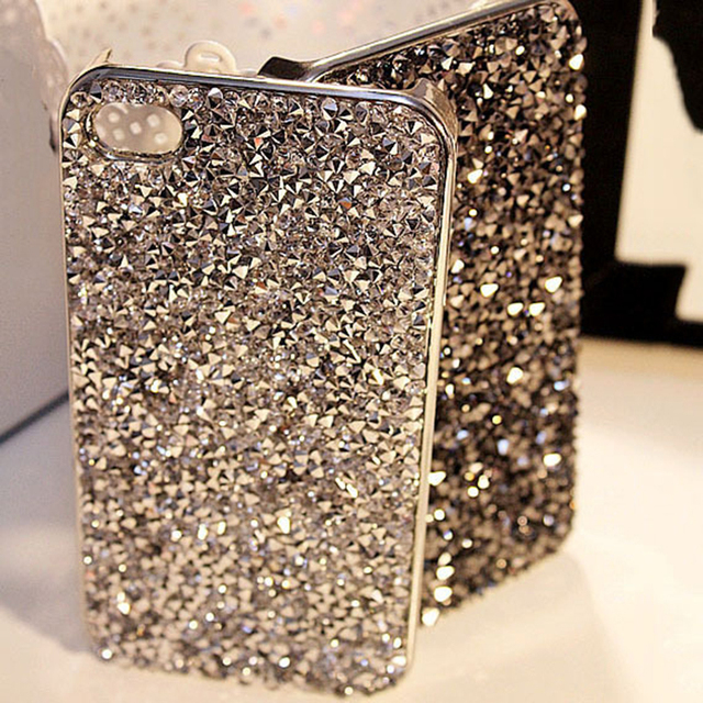 quality design 6c854 e104f US $3.35 |New Style Luxury Bling Rhinestone Cover Fashional Diamonds  Crystals Phone Case For Iphone 5 SE 5s 6 6s Plus 6Plus-in Rhinestone Cases  from ...