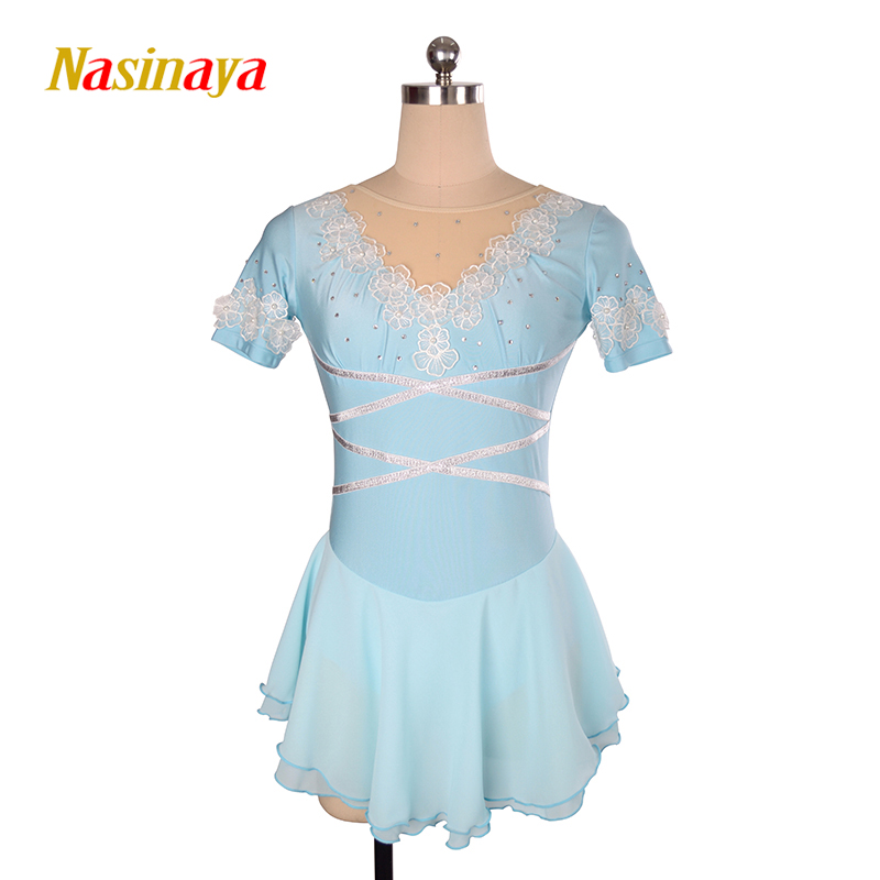 Nasinaya Figure Skating Dress Customized Competition Ice Skating Skirt for Girl Women Kids Patinaje Gymnastics Performance 122Nasinaya Figure Skating Dress Customized Competition Ice Skating Skirt for Girl Women Kids Patinaje Gymnastics Performance 122