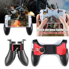 Get more info on the 5in1 Mobile Phone Gamepad Joystick Controller L1 R1 Fire Button Handle for PUBG