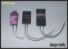 Partie d'avion RC 2.4G 6 canaux R6008HV 8CH récepteurs R7008HV, récepteur FASST Compatible FUTABA livraison gratuite